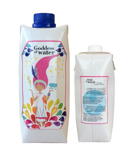 Tetra Brik Water Adhesivo 2 lados
