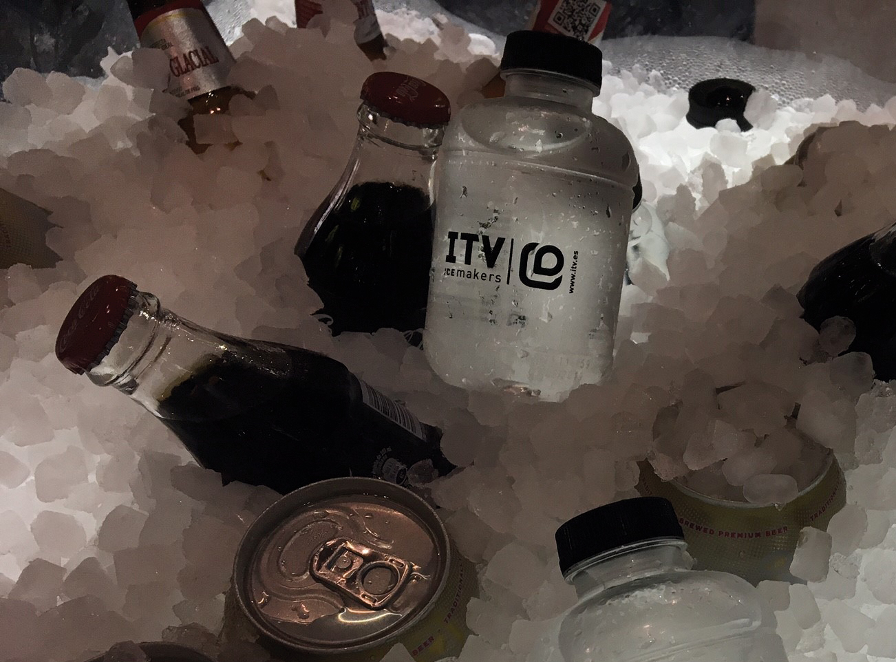 Botellas personalizadas ITEV icemakers