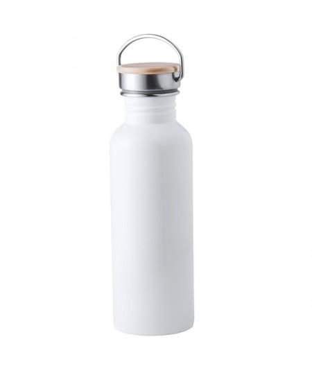 Botella para rellenar - Acero Inox. - TULMAN 80 cl.