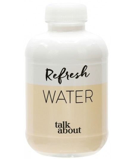 Botella R-Pet Barcelona 25 cl - Etiqueta Funda Completa Personalizada  -  Agua Mineral Natural.