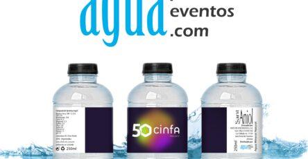 botella barcelona bottle personalizada para cinfa
